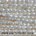 3515 rice pearl 2mm white color
