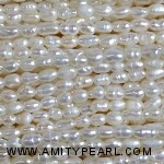 1.5-4mm White Fresh Water Pearls