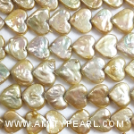 3205 heart-shaped pearl strand about 10x11.5mm gold color.jpg