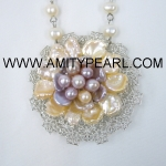 Pearl Flower Necklaces