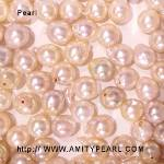 6214 saltwater half-drilled pearl about 6.5-7mm irregular shape champagne color.jpg